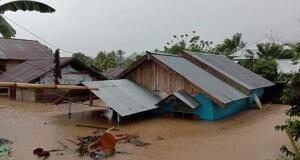 Bencana alam yang terjadi pekan silam di wilayah Bolsel. Foto:ist