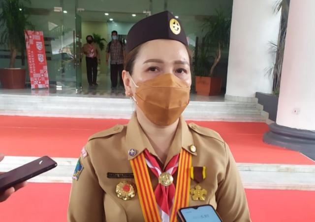 VANDA SARUNDAJANG, Ketua Kwarda Gerakan Pramuka Sulut