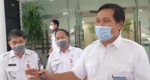 Wakil Gubernur Sulut Drs Steven OE Kandouw saat memberikan keterangan pers, Rabu (16/09/2020) sore
