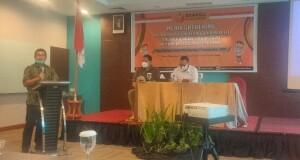Acara Media Gathering Bawaslu Sulut