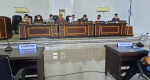RDP Komisi 1 DPRD Kota Bitung, Kamis (22/10/2020).