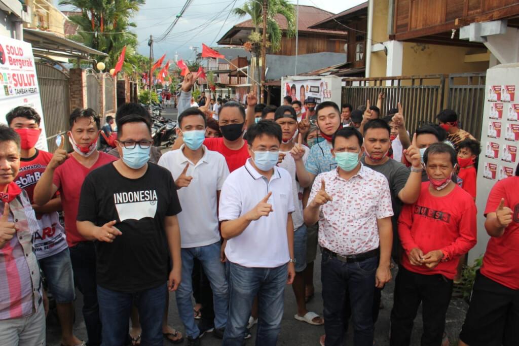 AA-RS bersama Banteng Milenial Ranotana