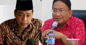 Kepala BPK RI Perwakilan Sulut, Karyadi dan Sekdaprov Edwin Silangen