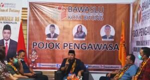 Anggota Bawaslu RI Mochammad Afifuddin, S. Th.I., M. Si Cek Kesiapan Bawaslu Kota Bitung