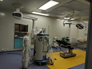 Ruang Operasi Covid di RSUD Maria Walanda Maramis Kabupaten Minahasa Utara.