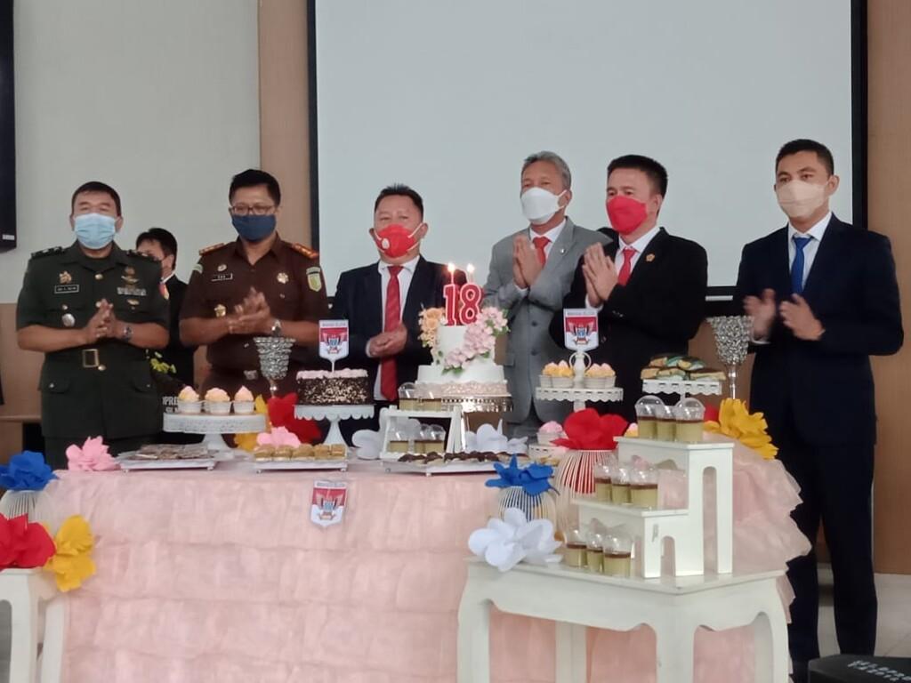 Forkopimda Kabupaten Minahasa Selatan ikut menghadiri Rapat Paripurna DPRD Kabupaten Minahasa Selatan