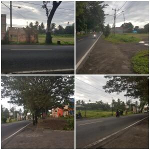Tampak gambar lahan yang berada di depan RSUD Maria Walanda Maramis.