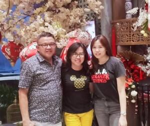Penatua Ir. Joppi Lengkong sosok humanis yang begitu ramah dan figur ayah serta suami yang baik di dalam keluarga Lengkong-Wijaya.