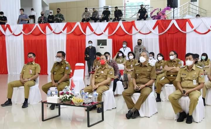 Bupati dan Walikota yang hadir dalam Kunjungan Kerja MenPAN-RB
