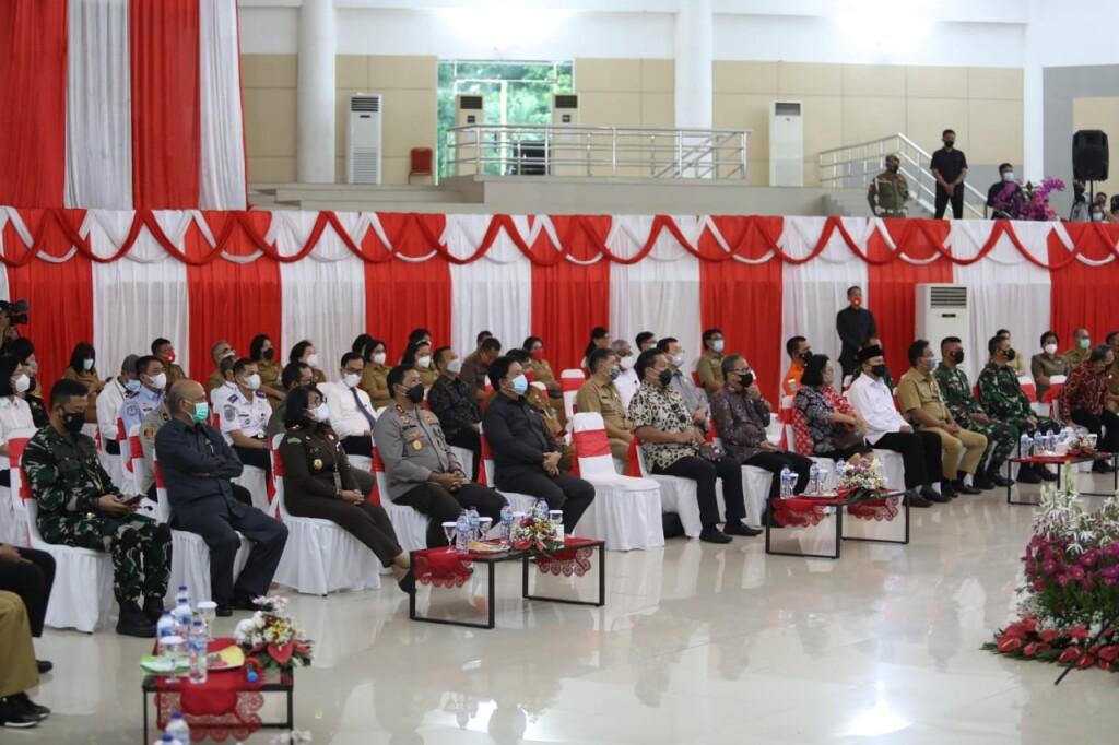 Unsur Forkopimda Sulut yang ikut hadiri pertemuan dengan Ketua DPR RI Puan Maharani