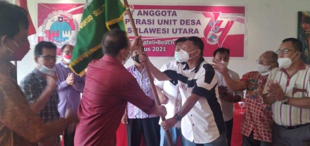 Penyerahan Pataka PUSKUD Sulut, Sabtu (14/08/2021)