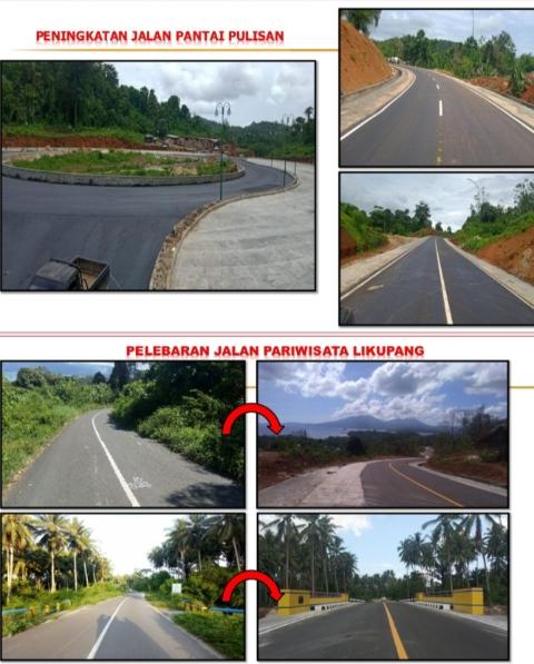 Infrastruktur penunjang KEK Pariwisata Likupang