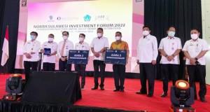 Gubernur Olly Dondokambey SE saat membuka kegiatan Investasi, Rabu (06/10/2021)