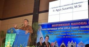 Ketua Bamag Sidoarjo Ir Agus Susanto terpili pimpin lembaga keagamaan Kristen ini.