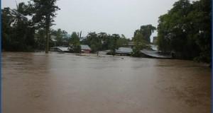 Wali Kota Bitung Hanny Sondakh mewarning warganya untuk siaga terhadap banjir yang terjadi, Rabu (4/2)