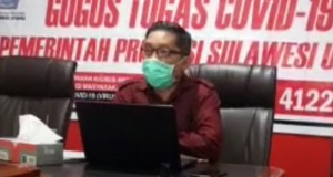 Jubir Gugus Tugas Covid-19 Provinsi, dr Steaven Dandel MPH