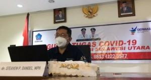 Juru Bicara Gugus Tugas Percepatan Penanganan Covid-19 Sulut, dr Steaven Dandel MPH