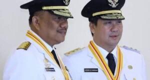 OLLY DONDOKAMBEY SE dan DRS STEVEN OE KANDOUW, Gubernur dan Wakil Gubernur Provinsi Sulawesi Utara