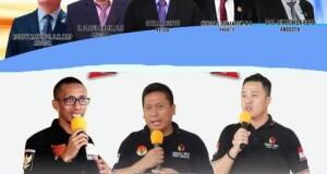 Foto atas: 5 orang Komisioner KPU Minut, foto bawah