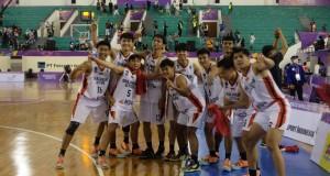 Tim Basket Putra Sulut siap berlaga di babak Final, Sabtu (09/10/2021) sore